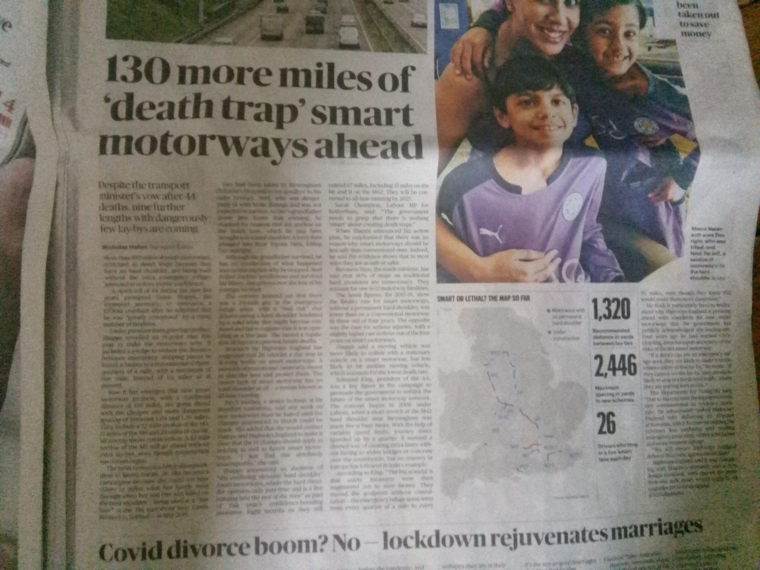 Press Article – Smart Motorways: Stationary Vehicle Detection