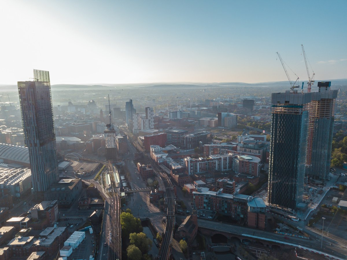 Technology for Clean Air Zone in Greater Manchester is right here